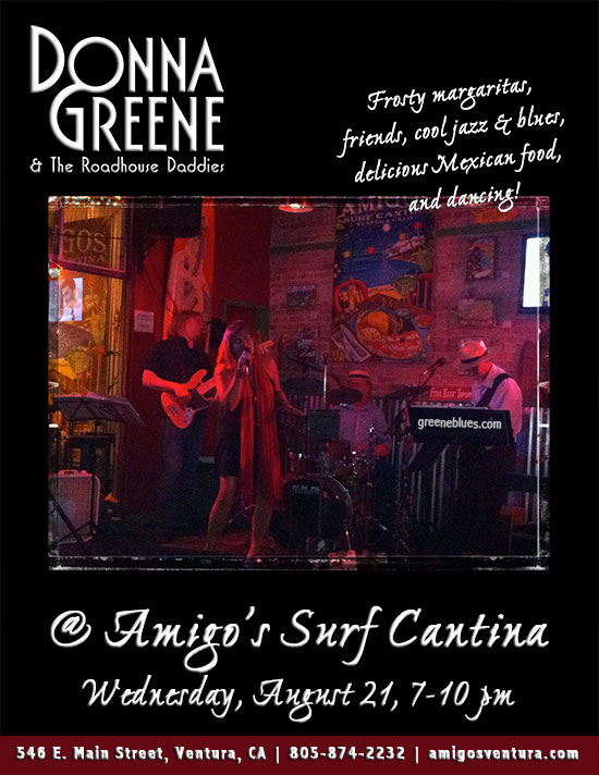 Donna Greene & The Roadhouse Daddies at Amigos