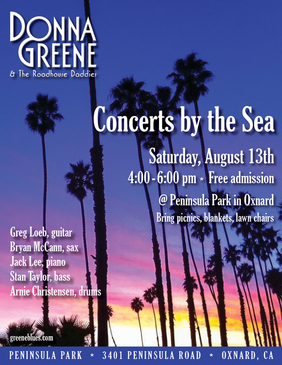 Concerts by the Sea - Donna Greene