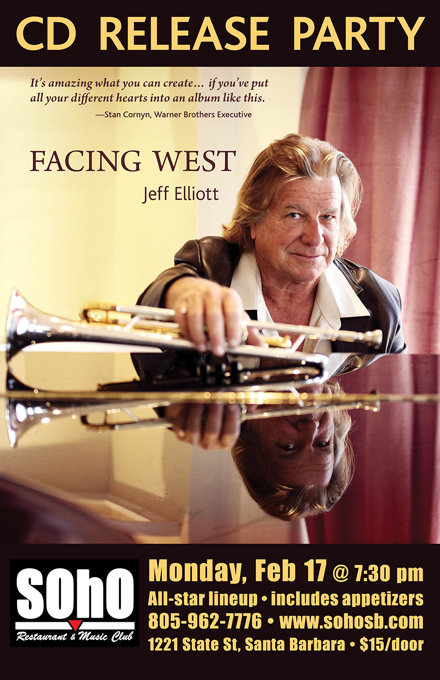 Jeff Elliott CD Release
