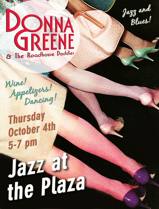 Jazz at the Plaza poster