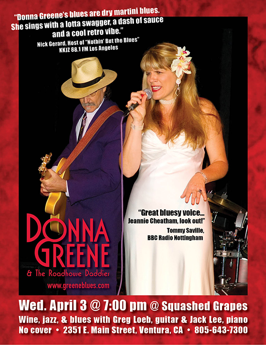 Donna Greene at Squashed Grapes