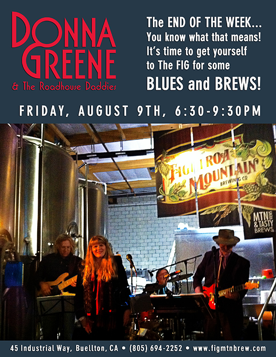 Donna Greene & The Roadhouse Daddies @ The FIG